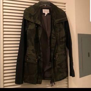 BCBG camo jacket